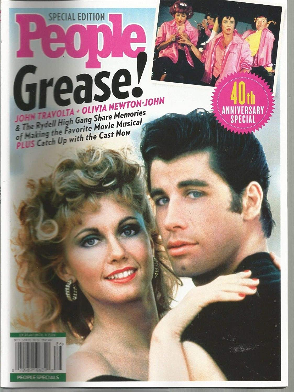 PEOPLE, SPECIAL EDITION, GREASE, 40TH ANNIVERSARY SPECIAL, 2018 ~ s3457