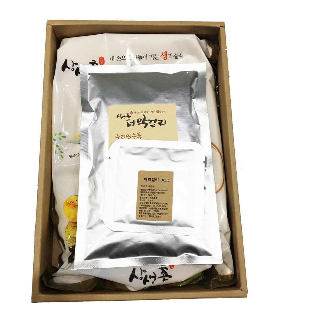 The Makgeolli Korean Traditional Organic Rice Wine Home Brewing DIY Kit 2.2lb by SangSaengChon (Image #3)
