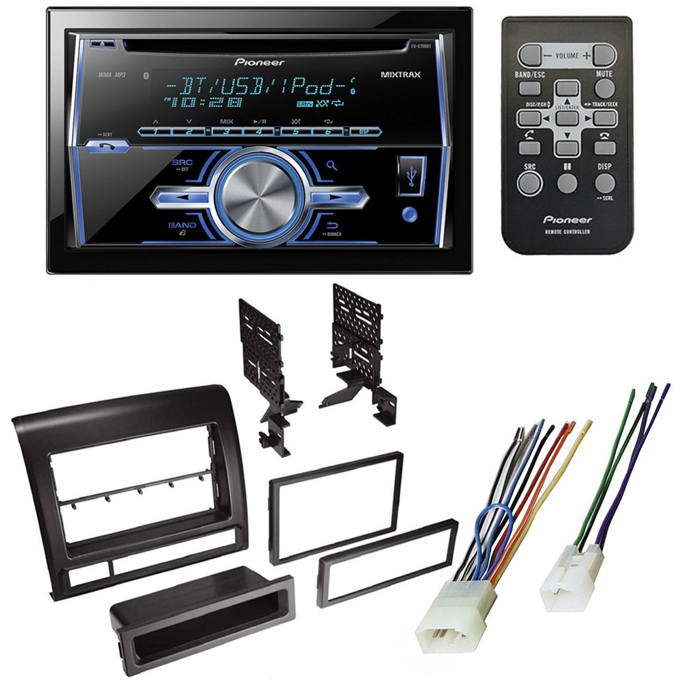Toyota Tacoma 2005 2011 Car Stereo Receiver Radio Dash Chevy Xm Wiring Harness Color Code Installation Mounting Kit W Electronics