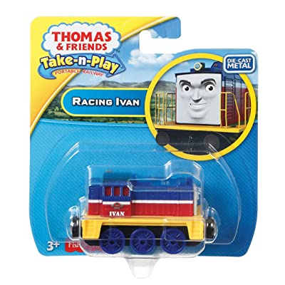 Fisher-Price Thomas & Friends Take-n-Play, Racing Ivan: Toys & Games