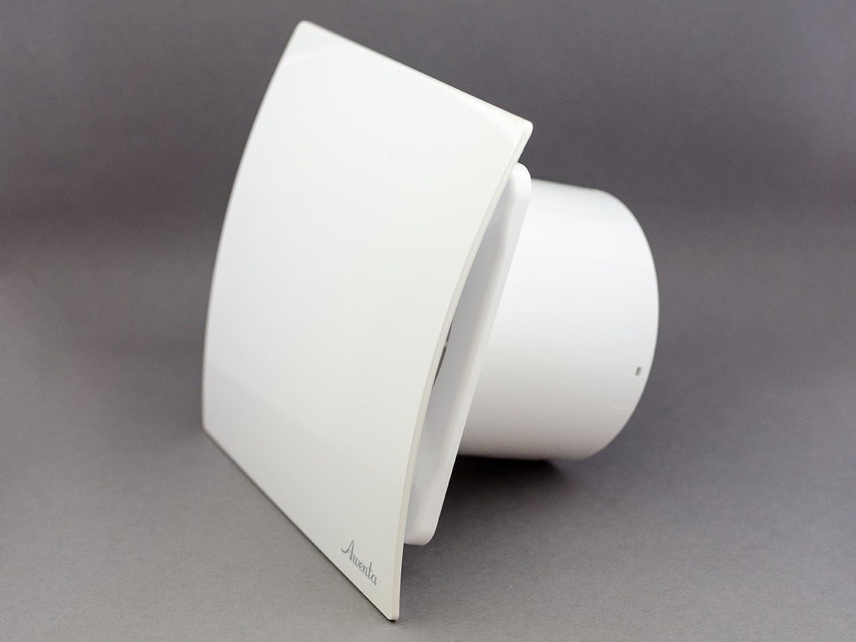 Cuarto de baño cocina ventilación pared higiénico extractor de aire con temporizador y sensor de humedad 4