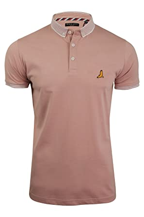 c357d4bf Brave Soul Mens Polo Shirt by Glover' Short Sleeved: Amazon.co.uk ...
