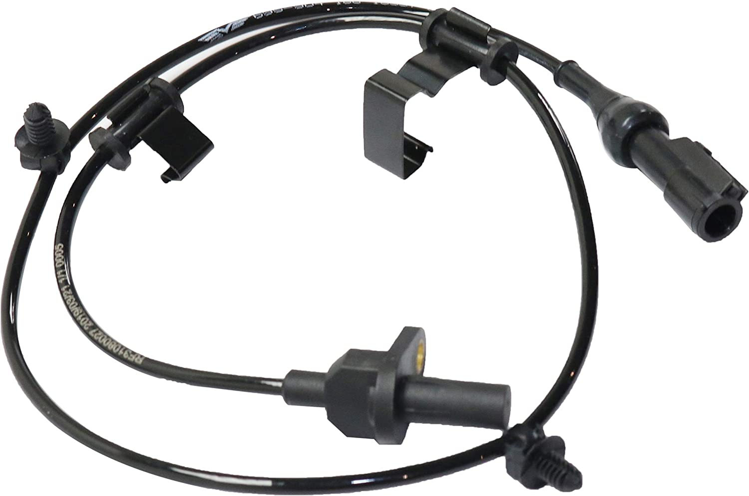 ABS Speed Sensor Compatible with 2007-2010 Ford Edge and Lincoln MKX Rear Right Side AWD 2 Male Pin-Type Terminals