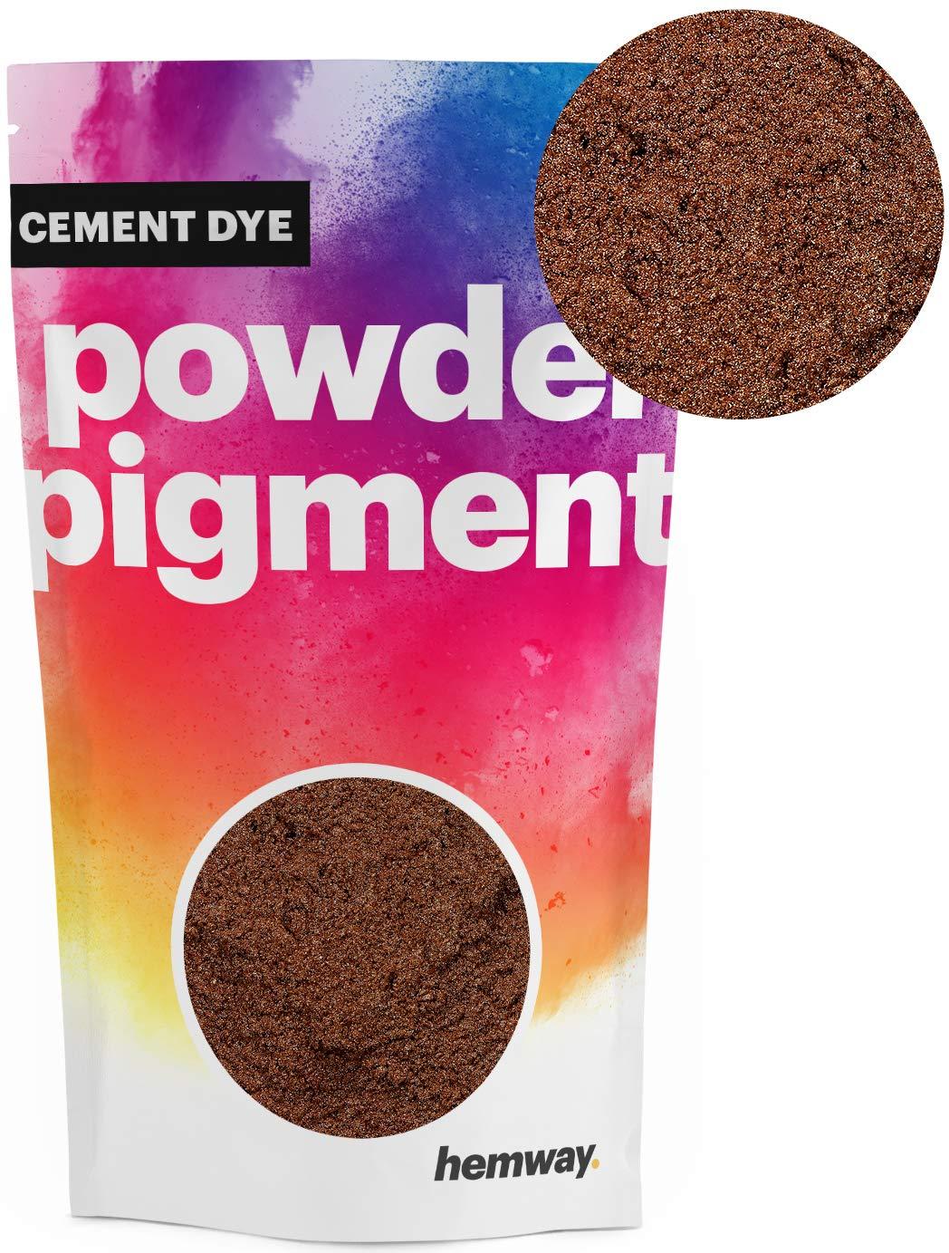 Hemway Cement Dye Powder Pigment Concrete Color Render Mortar Pointing Powdered Brick Toner Plaster (50g / 1.75oz, Metallic Hot Pink)