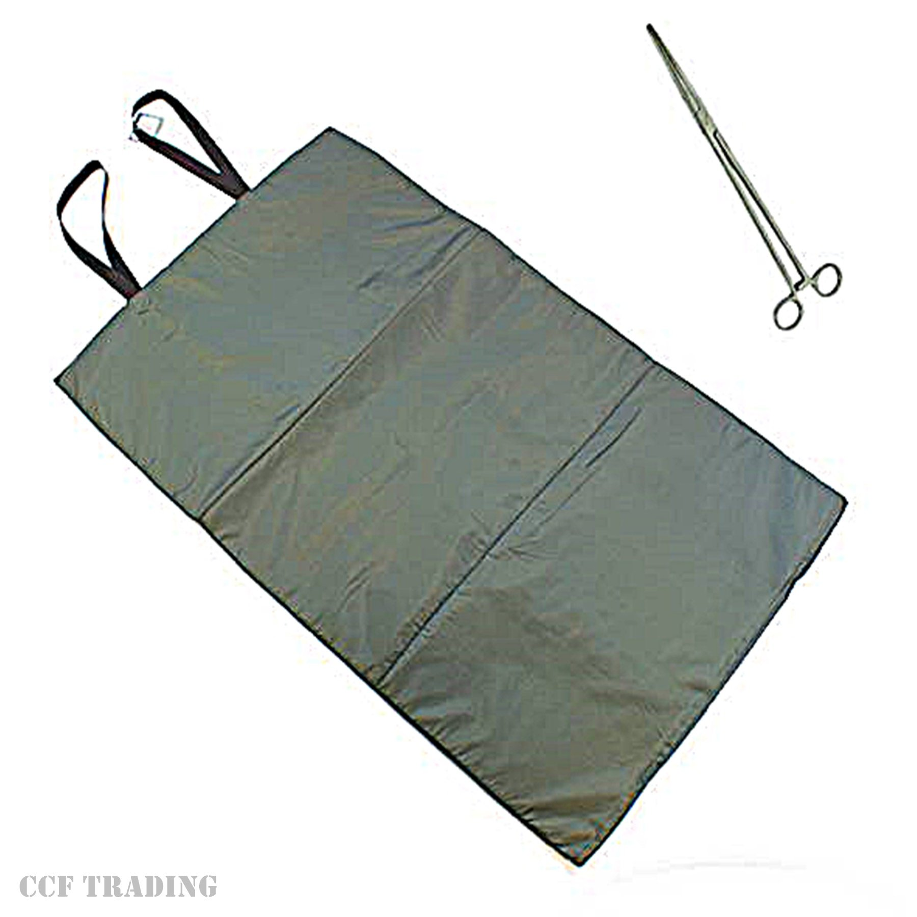 GNT ngt Unhooking Landing Mat & Forceps Fishing Tackle 10'' Straight