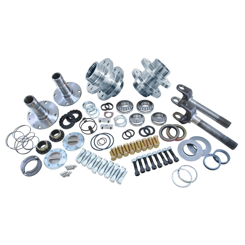 Yukon (YA WU-05) Spin Free Locking Hub Conversion Kit for Dodge DRW Dana 60 AAM Differential Yukon Gear