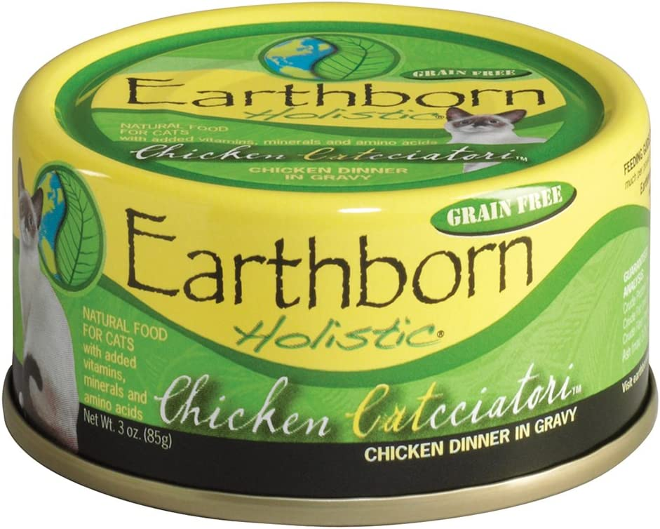 Earthborn Holistic Chicken Catcciatori Grain-Free Moist Cat Food