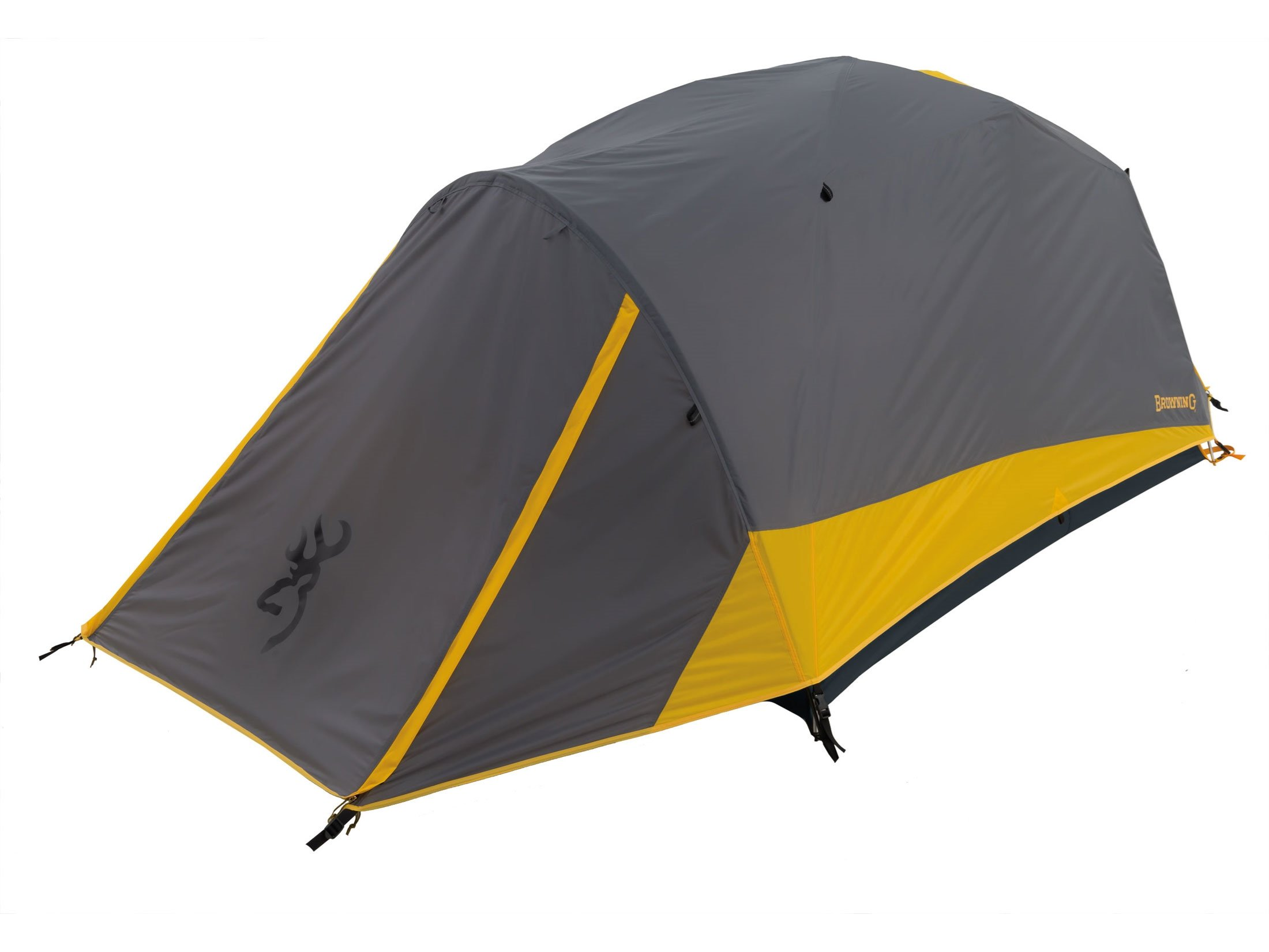 Browning Boulder 2-Person Dome Tent 88'' x 58'' x 46'' Polyester Gray/Gold