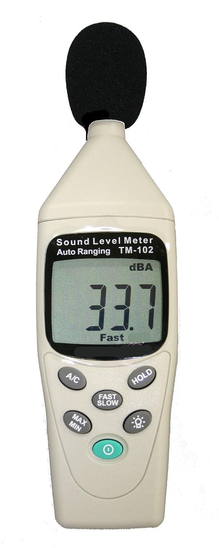 マザーツール デジタル騒音計 TM-102 小型ハンディ設計 バックライト液晶 自動電源オフ機能 B00396TC7O