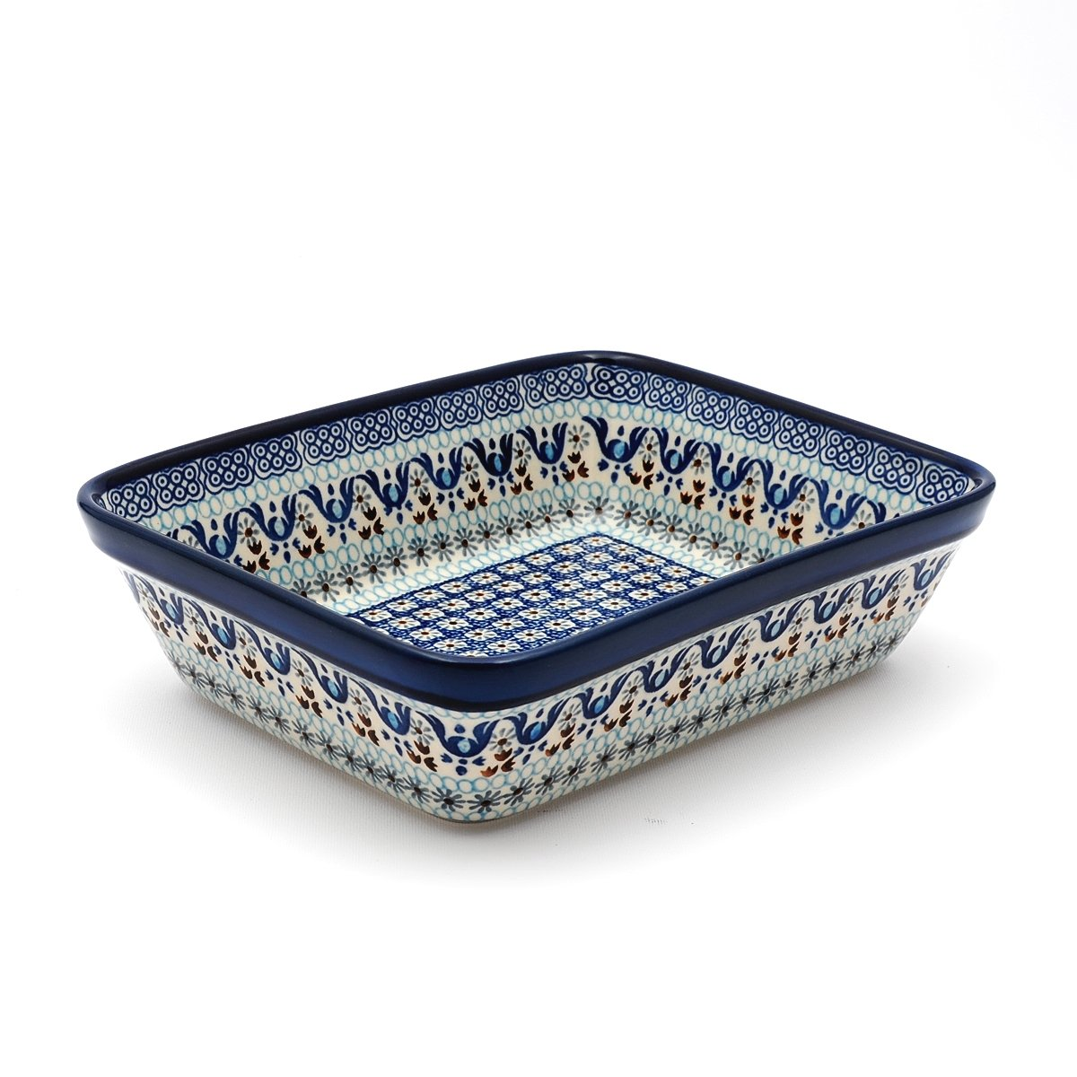 Ceramika Artystyczna Polish Pottery Lasagna Dish 25/19.5cm