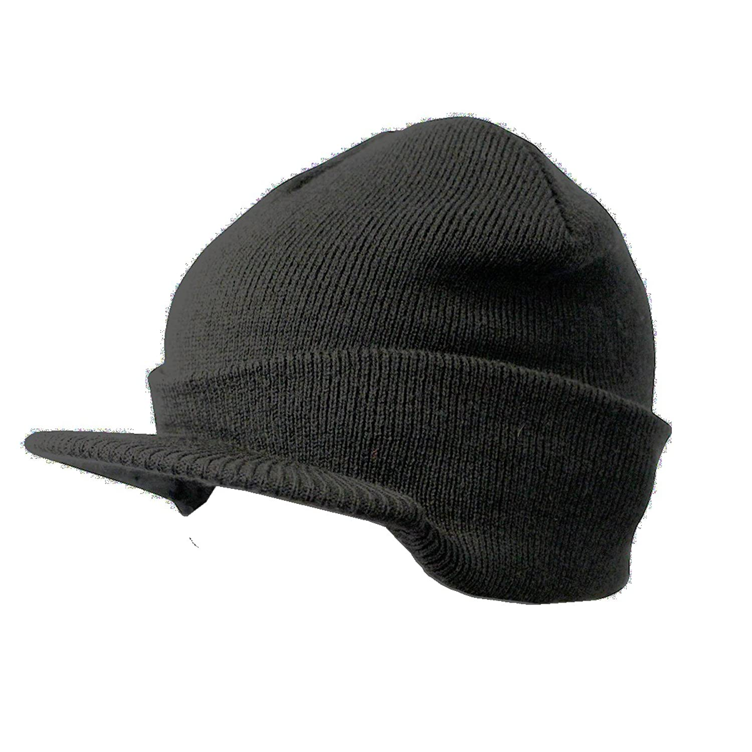 Winter Hats - Winter Cap - Warm Hat with Brim for Men for Women by CoverYourHair
