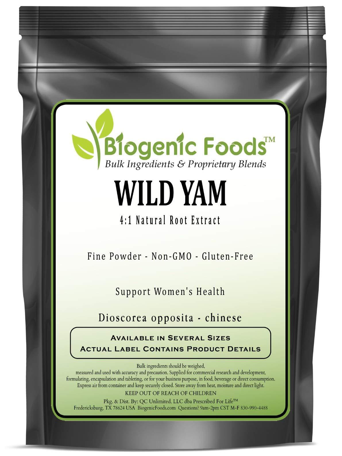 Wild Yam - 4:1 Natural Root Fine Powder Extract (Dioscorea opposita - Chinese), 25 kg