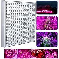 VINGO® 45W LED Pflanzenleuchte Pflanzenlampe Pflanzenlicht Zimmerpflanzen grow lampe Wachstumslampe 225 LEDs Rot&Bla für Frucht Wachstum Blumen Obst Gemüse
