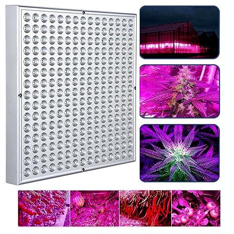 VINGO® 45W LED luz de Planta 225 LEDs luz del crecimiento de las plantas bulbosas lámpara colgante para las plantas interiores rojos y azules flores y ...
