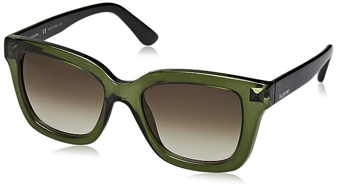 Valentino Eye Gafas de Sol, Verde, 53 para Mujer: Amazon.es ...