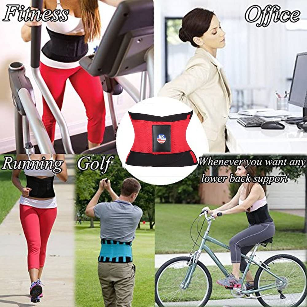 3 – 5 días entrega Fitness cintura Trimmer Cinturón de las mujeres ...