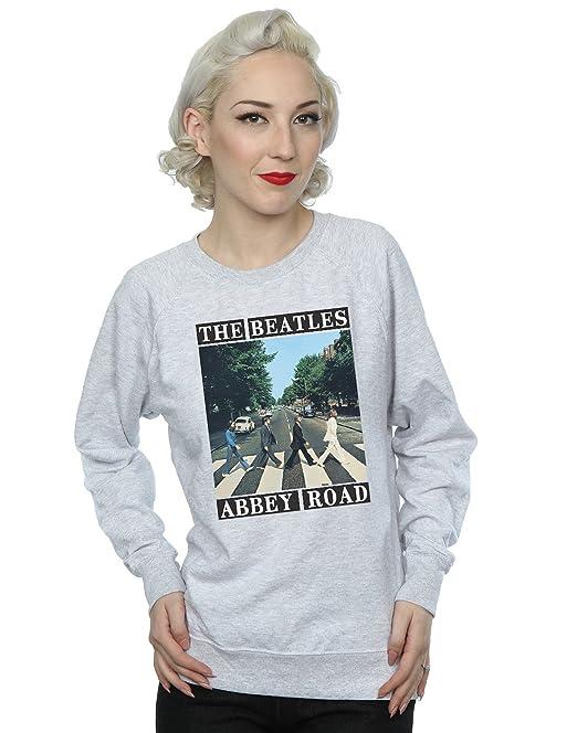 c05770898 The Beatles Mujer Abbey Road Camisa De Entrenamiento  Amazon.es  Ropa y  accesorios