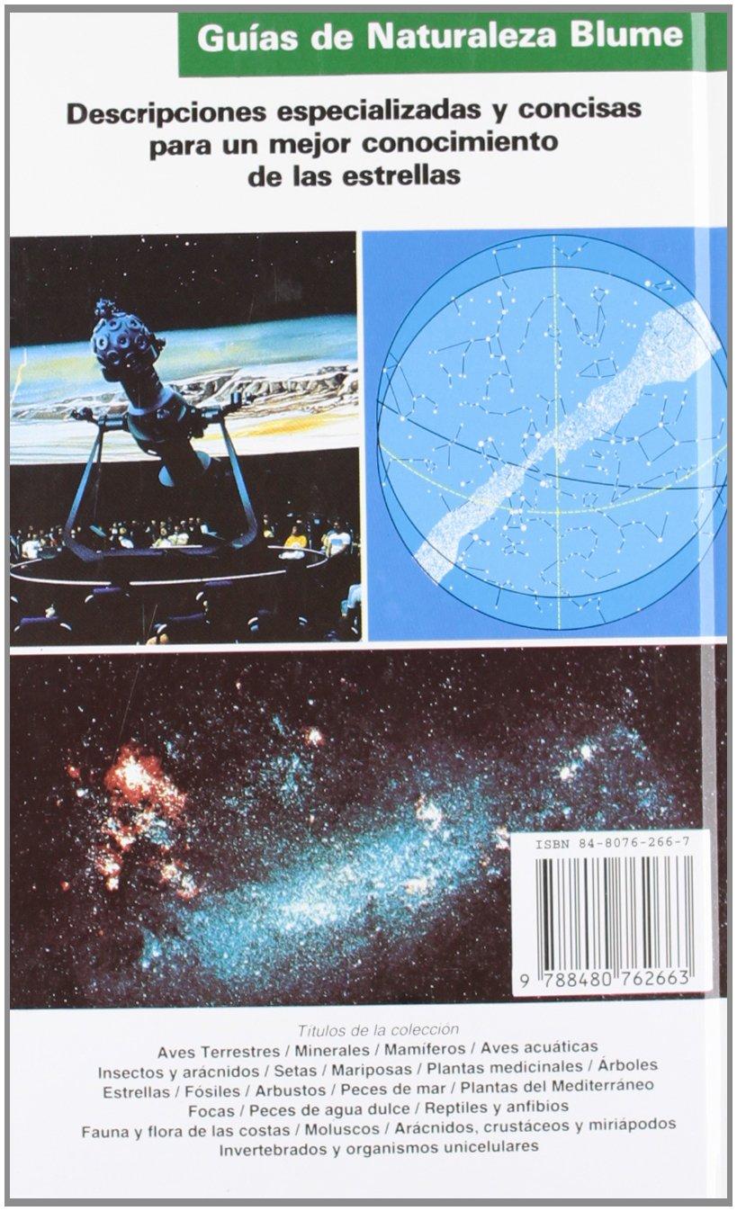Gu¡a Naturaleza. Estrellas (Guía naturaleza Blume): Amazon.es: Hermann, Joachim: Libros
