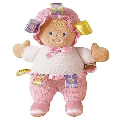 Mary Meyer Taggies Developmental Baby Doll, Pink, 8-Inch : Plush Toys : Baby