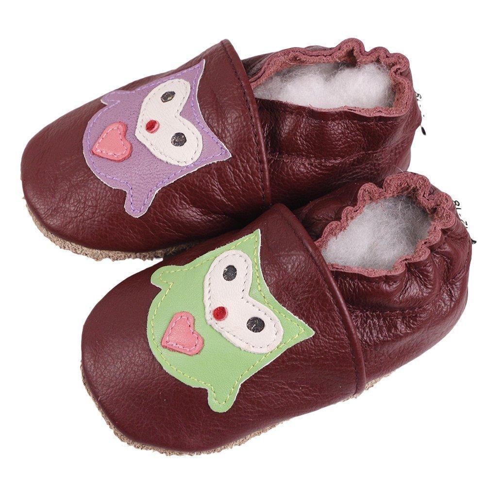 Vivi Pray Baby Shoes Unisex Boy Girl Leather Toddlers Prewalker