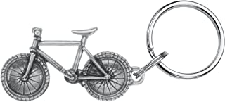 product image for DANFORTH - Bicycle Keyring - 2 1/4 Inches - Pewter - Key Fob - Handcrafted - Made in USA