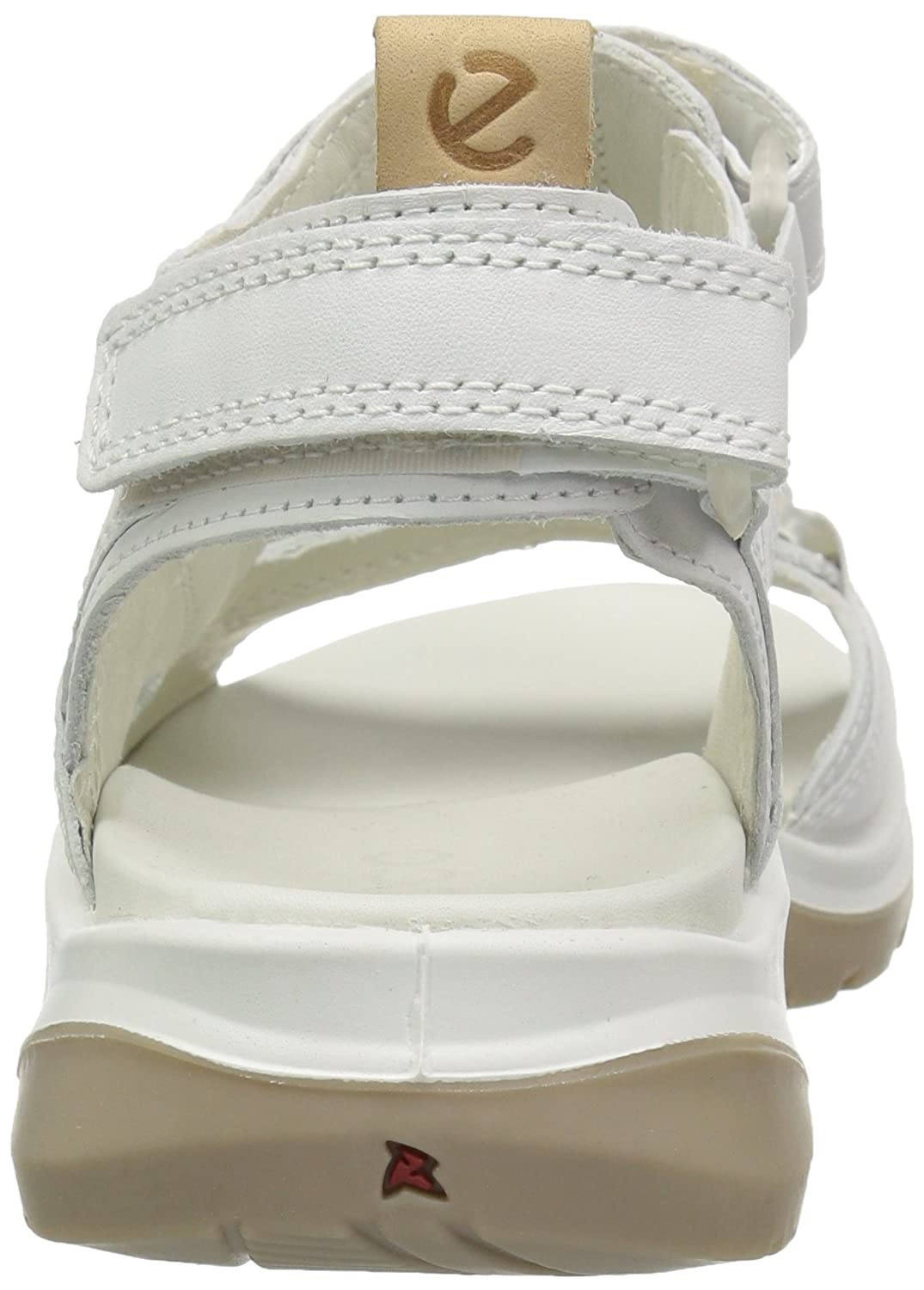 ECCO Women's Yucatan Sandal B076ZTS8HD 43 EU/12-12.5 M US|White/Powder
