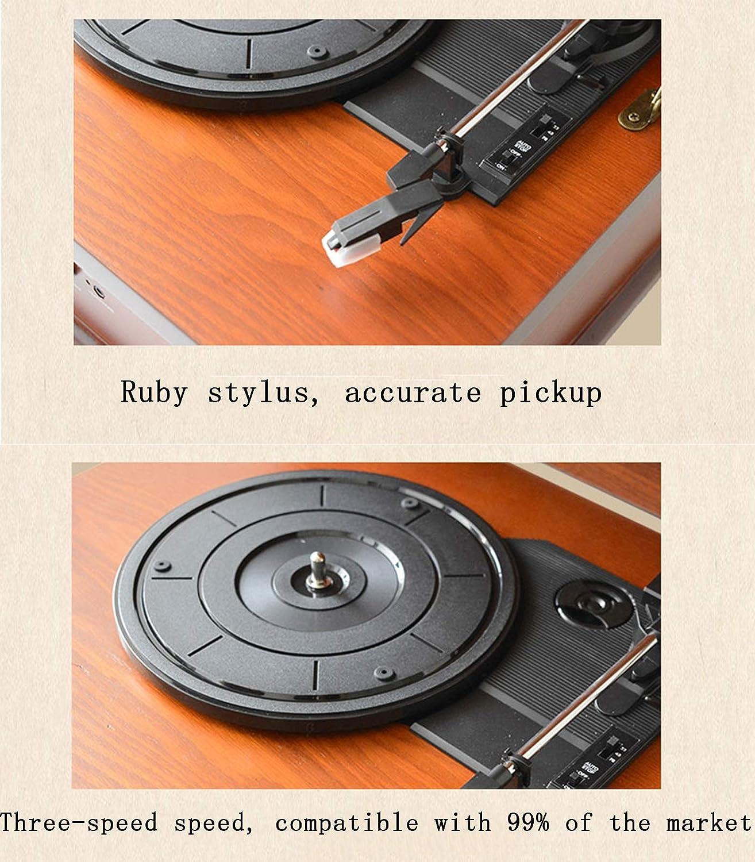 Tocadiscos Fonógrafo Retro Alta Velocidad estéreo de Alta ...