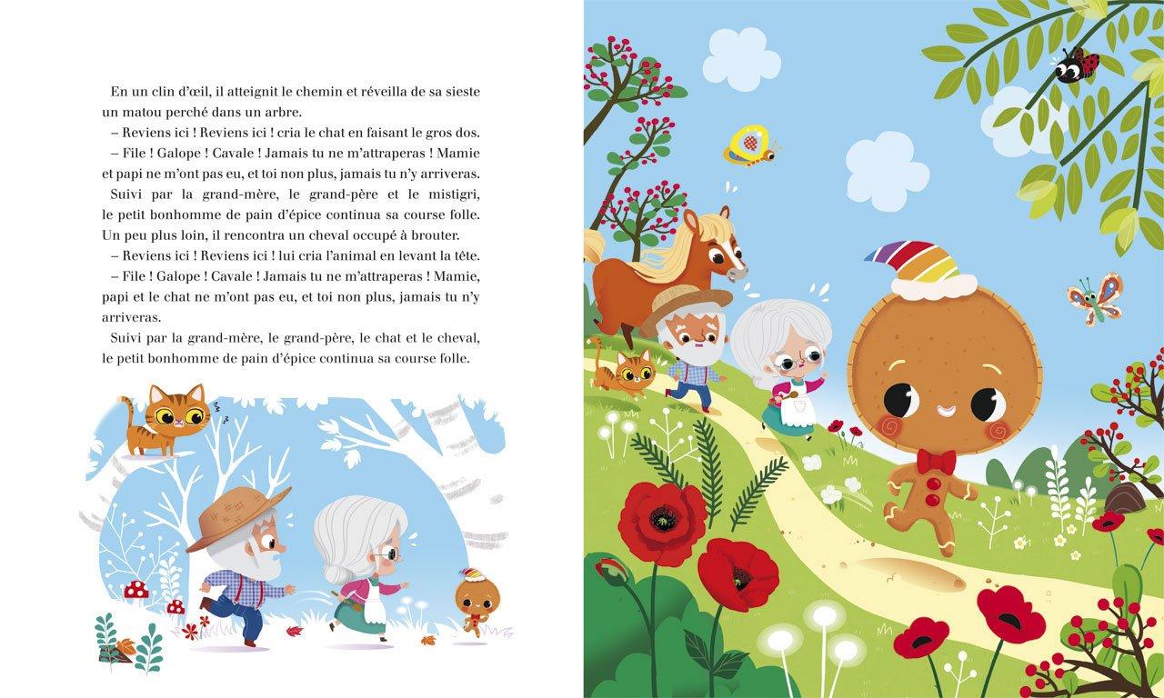 Amazon Fr Minicontes Classiques Le Petit Bonhomme De Pain D Epice