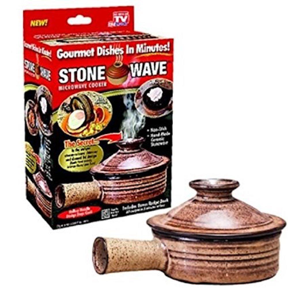 Telebrands 2 Stone Wave Micro Cooker MAIN-16812