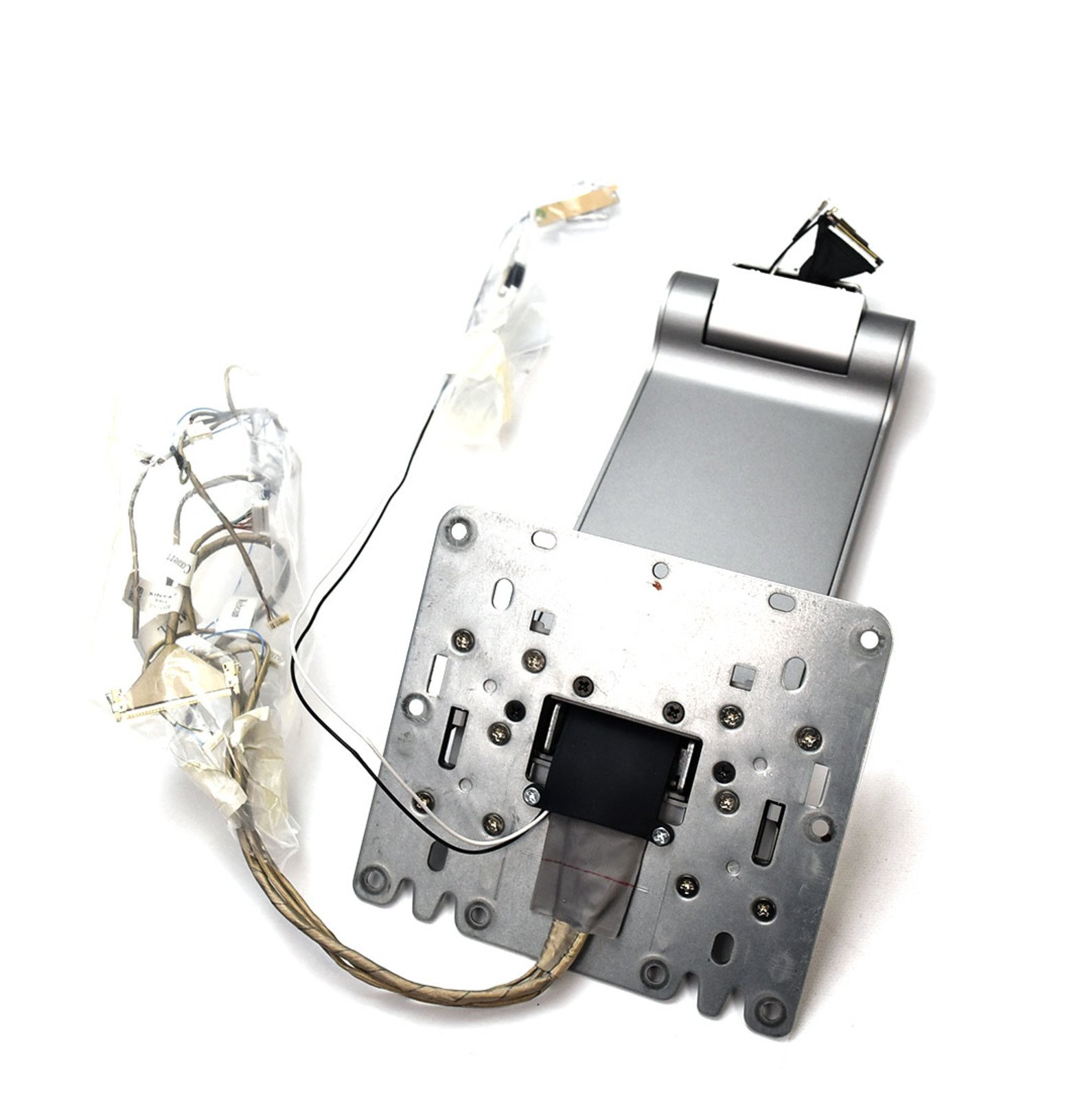 New DD5WF Genuine OEM Dell Base Stand Assembly w/Mic/R-L Pwr+OSD Webcam Convert LVDS Touch Ant-R/L Heavy Base Plate Silver