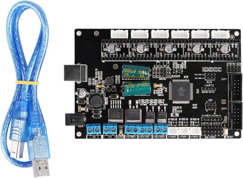 ILS TriGorilla - Placa Base con Cable USB para Impresora Kossel i3 ...