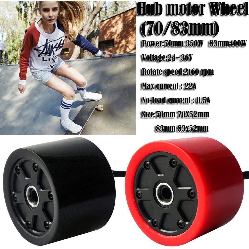 Purelemon 70mm 80mm Electric Skateboard Brushless Motor Wheels Kits Electric Motor Wheels for Skateboard Longboard E-Skateboard High Rotate Speed Internal Resistance High Power by Purelemon (Image #4)