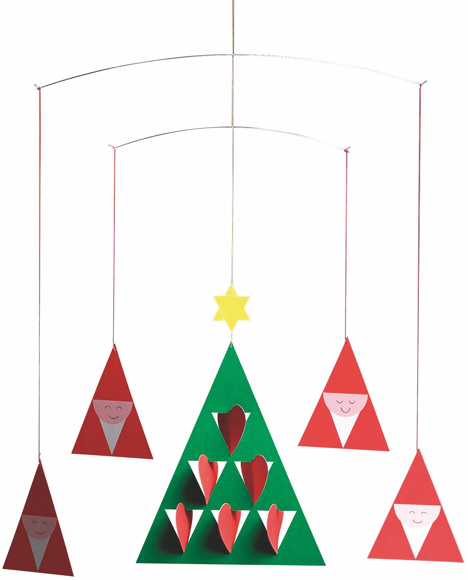 Flensted Mobiles Prismas Hanging Mobile - 14 Inches