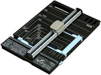 プラス 裁断機 スライドカッター ハンブンコ PK-813 20枚 断裁幅297mm A4長辺 26-477