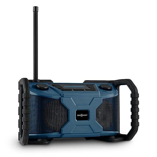 4 opinioni per oneConcept Worksite radio da cantiere resistenti altoparlanti per esterno