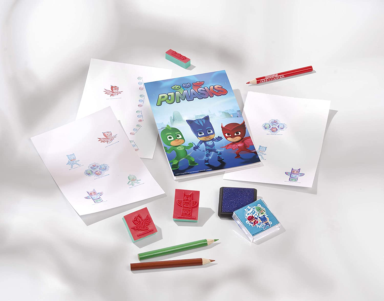 PJ Masks Totum 320017 Stamp Set Multi-Colour