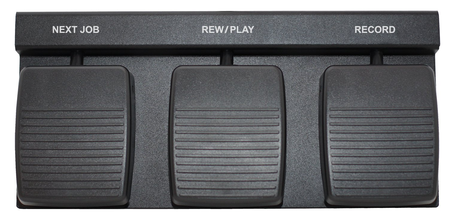 DAC 3 Function Foot Pedal- FP-110-USB