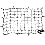47 x 36 Cargo net Bungee Nets Stretches to 80 x 60 Tight 3.15x3.15Mesh Holds More Than 200 lbs Loads16 Adjustable Hooks…