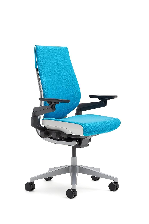 amazon com steelcase gesture chair blue jay kitchen dining