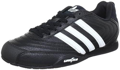 hot sale online c7ad0 27127 adidas Originals Goodyear Street 012043 - Zapatillas de Cuero para Hombre,  Color Negro, Talla 46  Amazon.es  Zapatos y complementos
