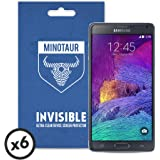 Samsung Galaxy Note 4 Screen Protector Pack, Super Clear by Minotaur (6 Screen Protectors)