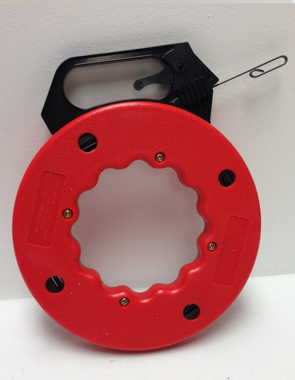 50 FT Fish Tape with High Impact Case for Electric or Communication ...