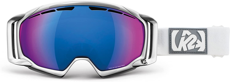 K2 Captura Ski Goggles One Size White//Blue Infrared Octic Mirror K2 Skis S1311005050