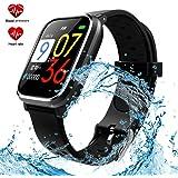 Amazon.com: AGPTEK Bluetooth Smartwatch for Women, Sport ...