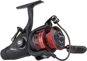 Penn Fierce Live Liner Spinning Fishing Reel, Red, Black, 2500 (Fierce III)