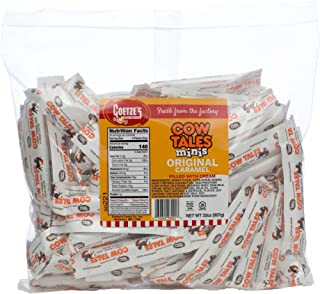 product image for Goetze's Candy Vanilla Cow Tales Minis - 2 Pound Bag (32 Ounces) - Fresh from the Factory