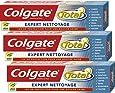 Colgate - Total Expert Nettoyage Dentifrice - 75 ml - Lot de 3