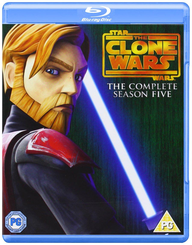 Star Wars Clone Wars - Season 1-5 [Blu-ray] by IMPORTS