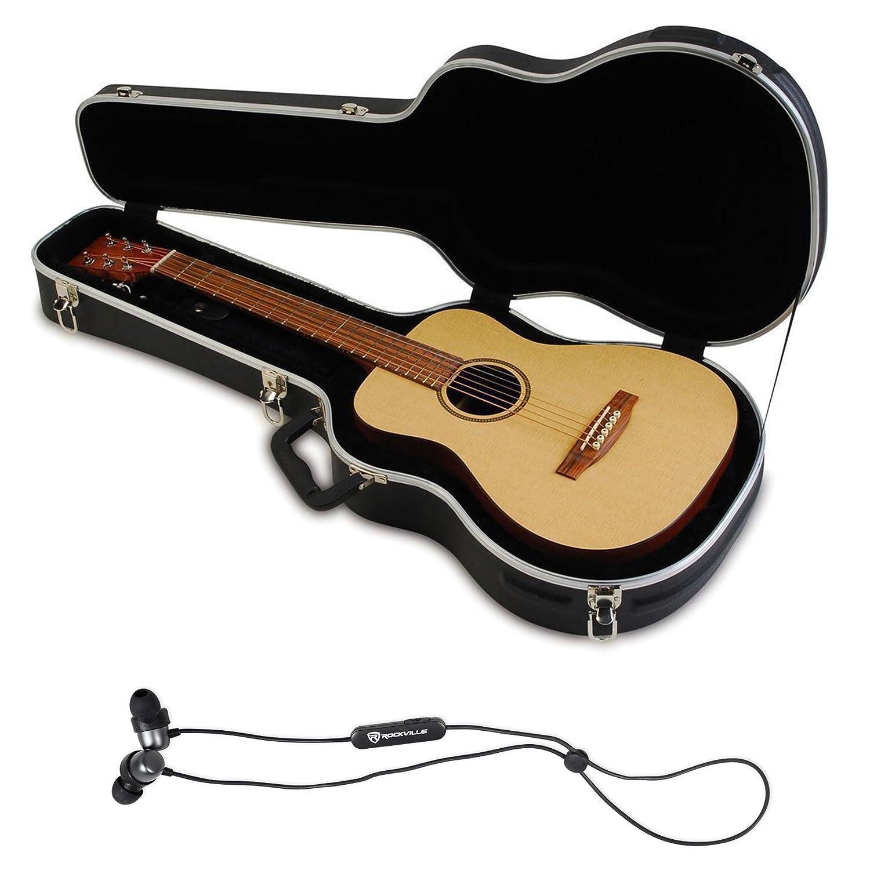 03bfad684ee Amazon.com: SKB 1SKB-300 Mini Acoustic Guitar Hard Case Fits Taylor/Martin  LX + BT EarBuds: Musical Instruments