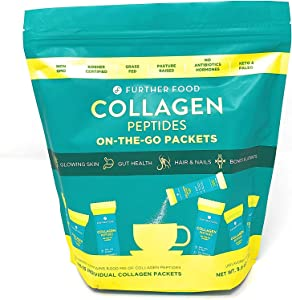 Further Food Collagen Peptides Protein Powder On-The-Go Packets
